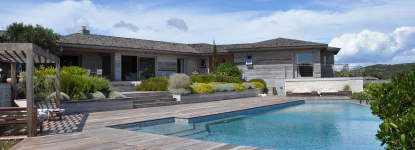 villa de luxe corse pour des vacances